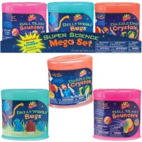 Super Science Mega Set - Value Pack of 3 Polymer Science Kits