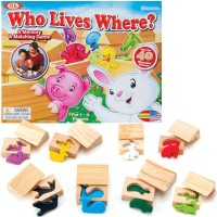Who Lives Where? Animals Memory & Matching Game