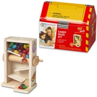 Build a Candy Maze Kids Woodcrafting Kit