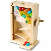 Stanley Jr. Build a Candy Maze Kids Woodcrafting Kit