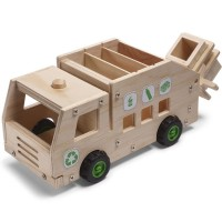 Build a Recycling Truck Kids Woodcrafting Kit