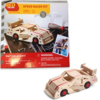 Build a Speed Racer Car Kids Woodcrafting Kit