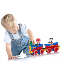 Toddler First Deluxe Train Play Set