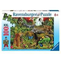 Wild Jungle 100 pc Animal Puzzle