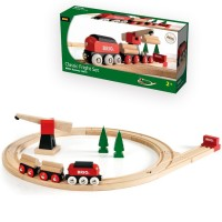Brio Classic Freight Set 18 pc Wooden Train Set