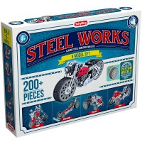 Steel Works 5 Model  200 pc Construction Set