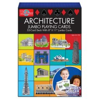 Architecture 52 Giant Playing Cards Set