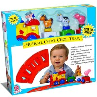 Musical Choo Choo Train Toddler Playset