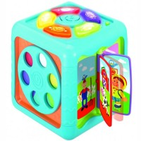 Side to Side Discovery Cube Toddler Activity Toy