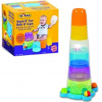 Stack o' Fun Balls & Cups Stacking Toy