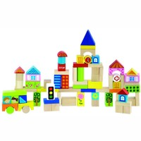 In the City 75 pc Building Blocks Set