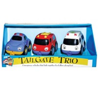 Rescue Vehicles Tailgate Trio Playset