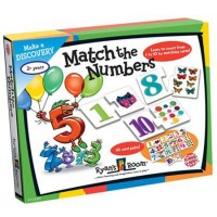 Match the Numbers Counting Puzzle Pairs Set