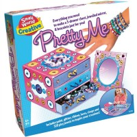 Pretty Me Jewelry Box and Mirror Decorating Craft Kit