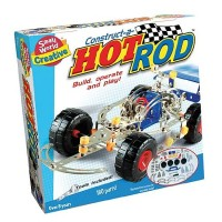 Construct a Hot Rod Vehicle Building Set