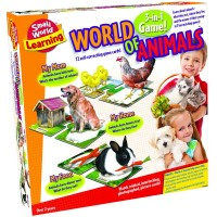 World of Animals 3-in-1 Learning Games Set