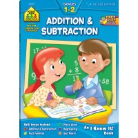 Addition & Subtraction 64 Pages Grades 1-2 Workbook
