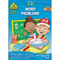 Word Problems 64 Pages Grades 1-2 Workbook