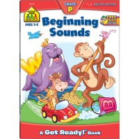 Beginning Sounds 64 Pages Preschool Workbook