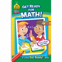 Get Ready for Math 48 Pages Activity Workbook for Grades K-1