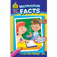 Multiplication Facts 48 Pages Activity Workbook for Grades 3-4