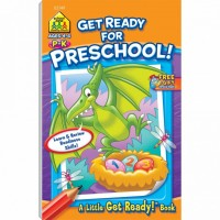 Get Ready for Preschool 48 Pages Activity Workbook