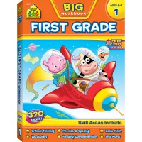 Big First Grade Workbook - 320 pages