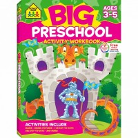 Big Preschool Activity Workbook 320 Pages