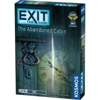Exit: The Abandoned Cabin Escape Room Home Game