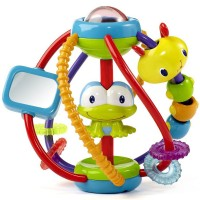 Clack & Slide Ball Baby Rattle