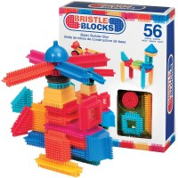 Bristle Blocks 56 pc Building Set