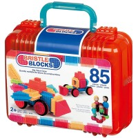 Bristle Blocks Big Value Case 85 pc Building Set