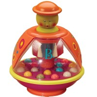 Poppitoppy Spinning Top Toddler Toy