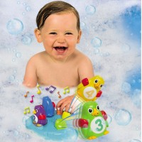 Poppin Penguin Island Toddler Musical Bath Toy