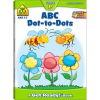 ABC Dot to Dots Activity Workbook - 64 Pages