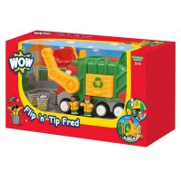 Toddler Toy Recycling Truck Flip n Tip Fred Vehicle