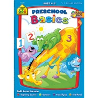 Preschool Basics Workbook - 64 Pages