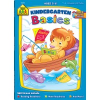Kindergarten Basics Workbook - 64 Pages