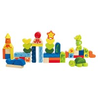 Under the Sea Blocks 48 pcs Wooden Set