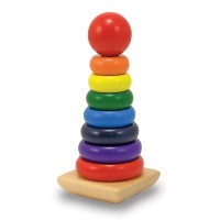 Rainbow Stacker Wooden Stacking Toy
