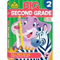Big 320 Pages Kids Workbook - 2nd Grade