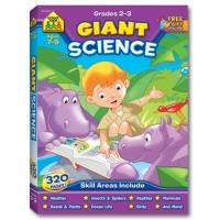Giant Science 320 pages Workbook for Grades 2-3