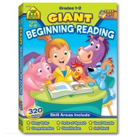 Beginning Reading 320 pages Giant Workbook