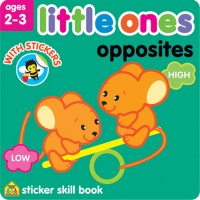 Little Ones Opposites Toddler Sticker Activity Book