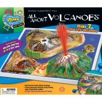 Kids Volcano Painting Science Craft