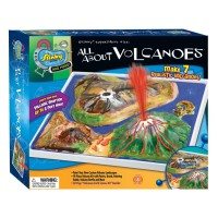 Kids Volcanoes Painting Science Craft