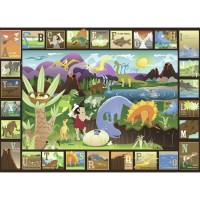 Dinosaur Alphabet 60 pc Children Puzzle