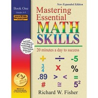 Mastering Essential Math Skills: 20 Minutes a Day to Success Book 1: Grades 4-5