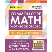 Argo Brothers Math Workbook Grade 2: Common Core Multiple Choice (2nd Grade)