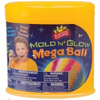 Mega Glow Bouncy Ball Making Kit